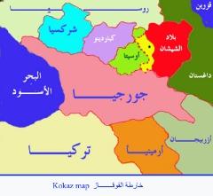 خرائط القوقاز والشيشان_6